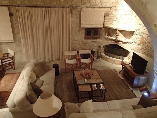 Lofou, Kıbrıs: Schoolmaster house / 'living room'