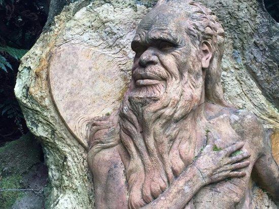 Mount Dandenong, Australia: Aboriginal Man