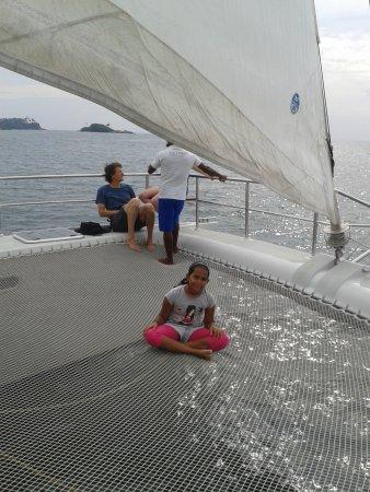 Sail Lanka Charter: aboard the catamaran