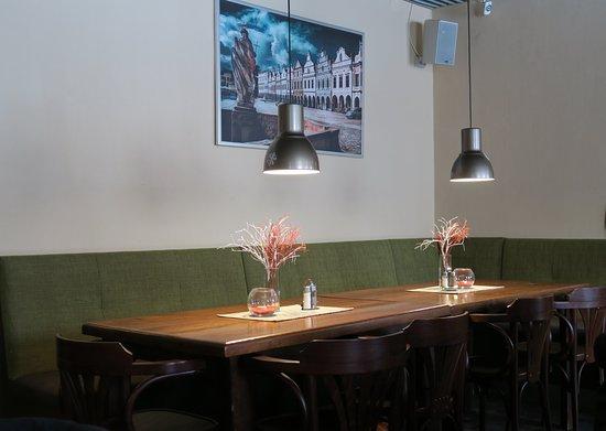 Telc, Tjeckien: 店內環境桌面擺飾