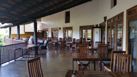 Farm house valley lodge tanganyika wilderness camps terrace and lunch aerea