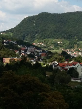 Krapina, Croazia: A view on surrounding area