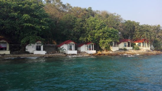 Rayong Province, Thailand: Bungalow sul porto