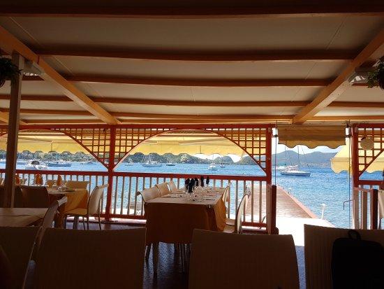 Terre-de-Haut, Guadalupe: Vue du restaurant