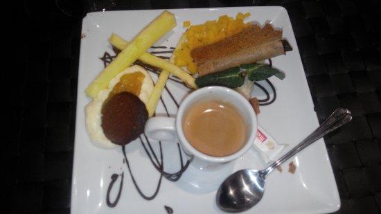 Brasserie du Monde: Café gourmand