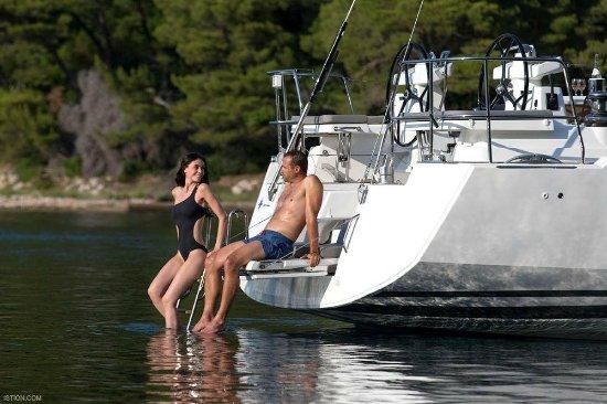 Gouvia, Grèce : Relaxing moments