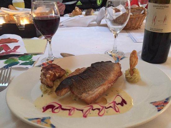 Multyfarnham, Ireland: monkfish and hake