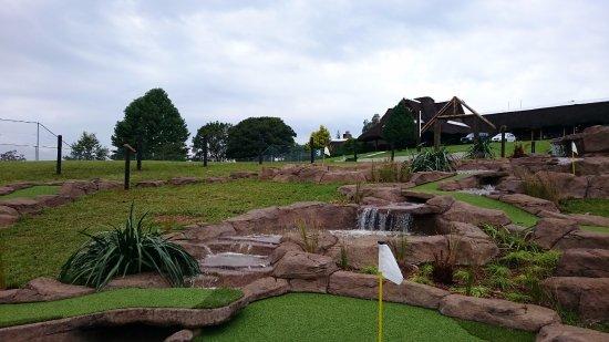 Kokstad, Sydafrika: Lovely putt putt course