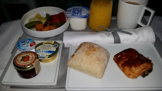 Petit d jeuner photo de air france monde tripadvisor - Meilleur petit dejeuner paris ...