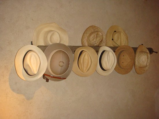 Segera Retreat: Wearing hats, while not mandatory, is recommended of course ...