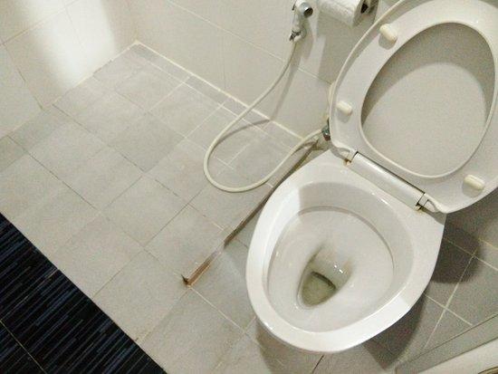 that little floor separator will hurt your foot easily in