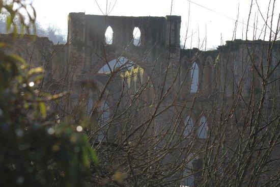 Helmsley, UK: Morning mist