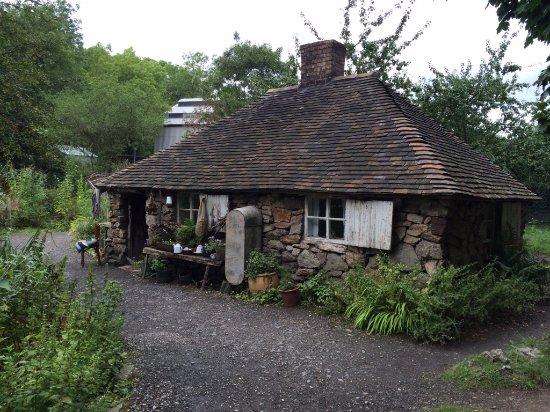 Ironbridge, UK: Typical old cottage
