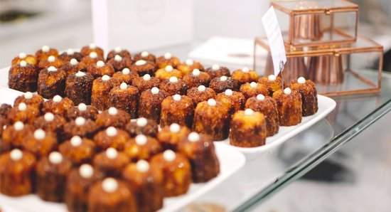 the canelé de bordeaux: a typical french pastry flavored with rum