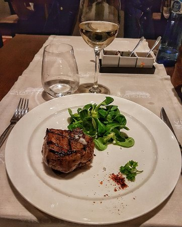 Patagonia Beef & Wine: The wonderful stake ( half of portion)
