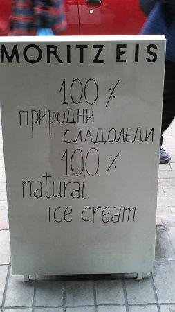 Moritz Eis: Ice cream