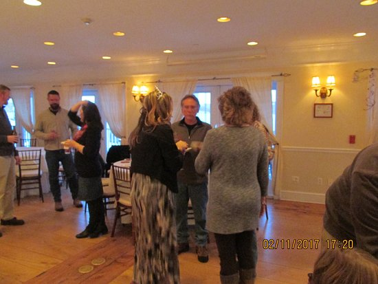 Rhinecliff, NY: it was a surprise birthday party