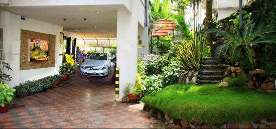 Yuvarani Residency: Car Porch