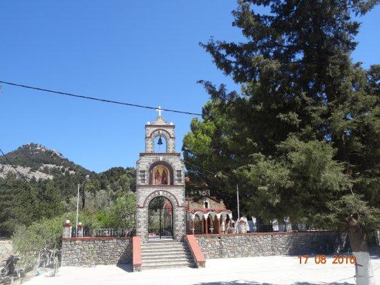Archangelos, Yunanistan: Архангелос, август-2016, виды...