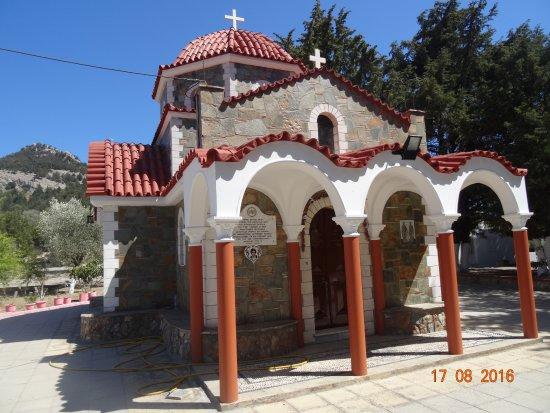 Archangelos, Grekland: Архангелос, август-2016, виды...