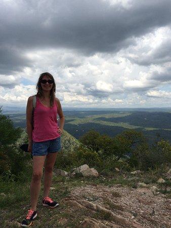 Cuchi Corral: Vista al valle