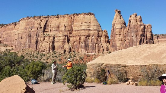 Fruita, Kolorado: Hiking in the monument
