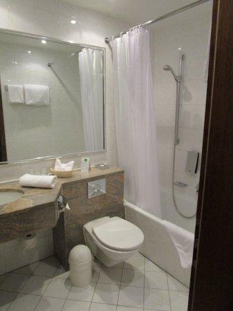 Eibsee Hotel: Blick ins Bad
