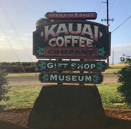 Kalaheo, HI: Kauai Coffee Gift Shop and Museum