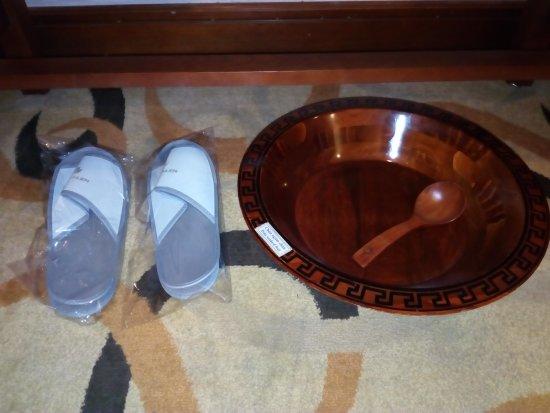 Voetenbad En Slippers Foto Van Saigon Kim Lien Hotel Vinh