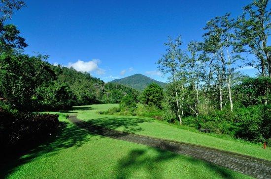 Baturiti, Indonesia: Paths to the courses