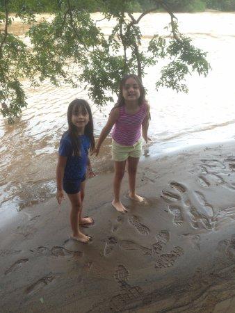 Socorro, SP: as meninas adoraram a prainha
