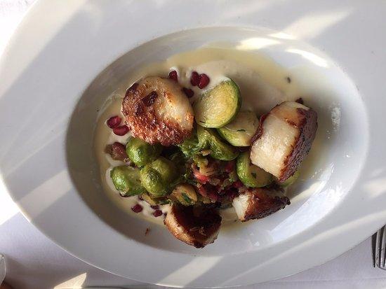 Loeb Boathouse: Scallop Dish