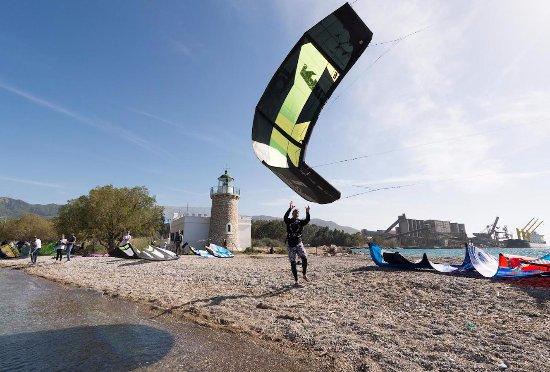 Drepano, Greece: kite