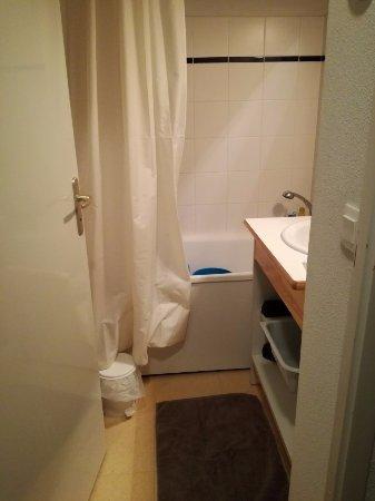 Termignon, Francia: salle de bain