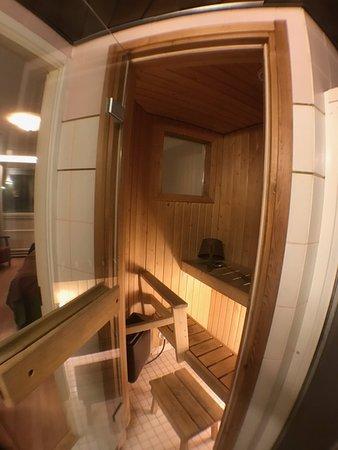 Kajaani, Finnland: Huone saunalla