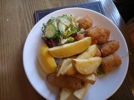 Thurstonland, UK: Scampi