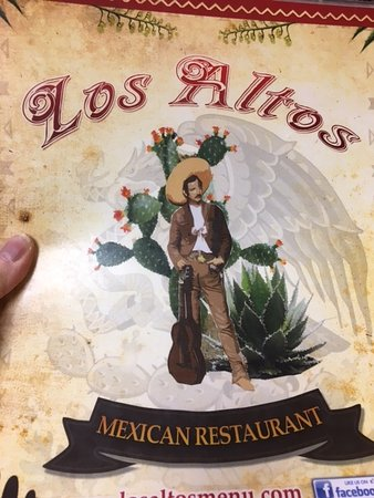 Stuart, IA: We loved the menu choices at Los Altos!