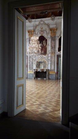 Bruchsal, Alemanha: Schloss innen