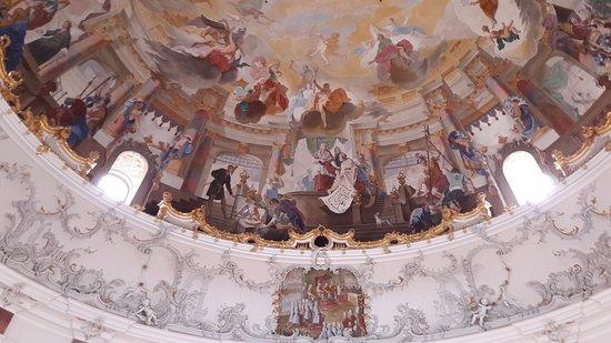 Bruchsal, Germany: Schloss Decke