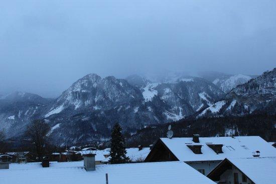 Radfeld, Austria: Panorama of the Alps