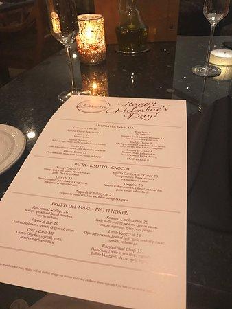 Ristorante Divino : Wonderful Valentine's Day dinner