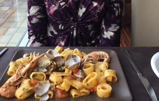 Legnago, Italy: Pasta scampi