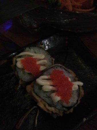 Zen Japanese & Oriental Restaurant: uramaki fritto...eccezionale