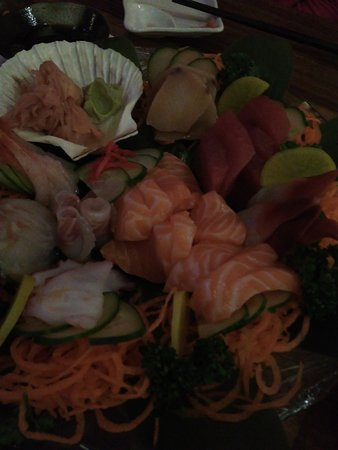 Zen Japanese & Oriental Restaurant: sashimi