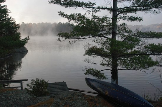 Cantley, Kanada: Private swimming area in a very Canadian environment