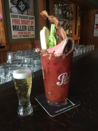 Port Washington, WI: Wooster's Bloody Mary
