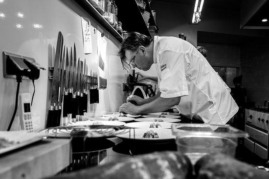 Taste and Colours: de chef aan het werk