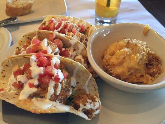 Blackened Baja Fish Tacos And Bang Bang Shrimp Tacos Great