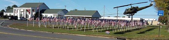 Jacksonville, AR: Flag display