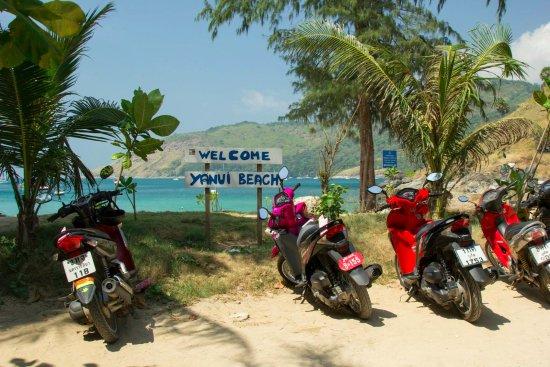 Rawai, Tailandia: Welcome to Yanui Beach!